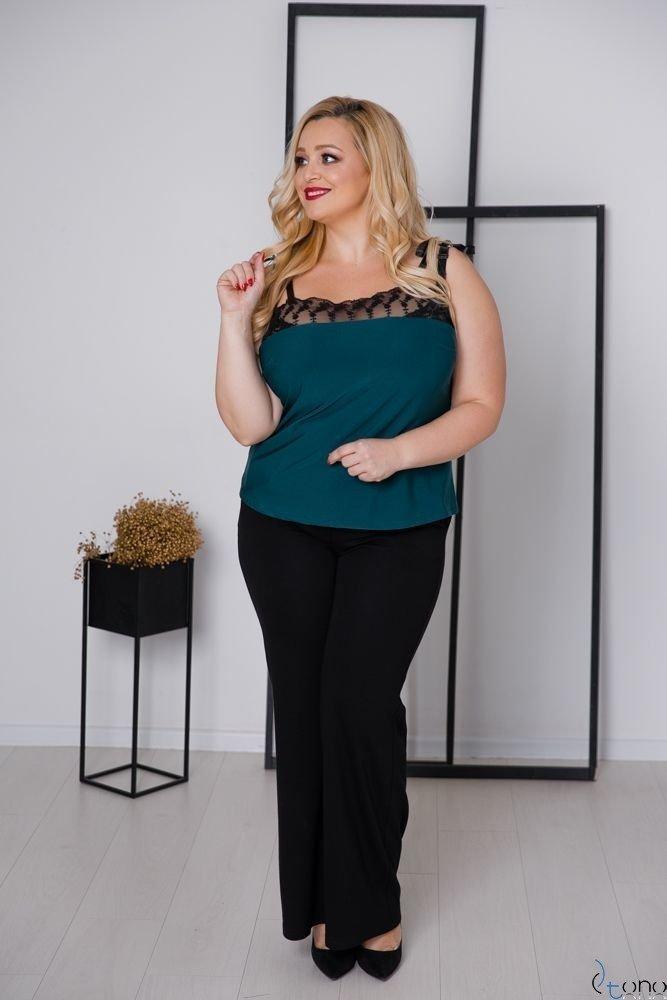 Zielona Bluzka BEVIA Plus Size