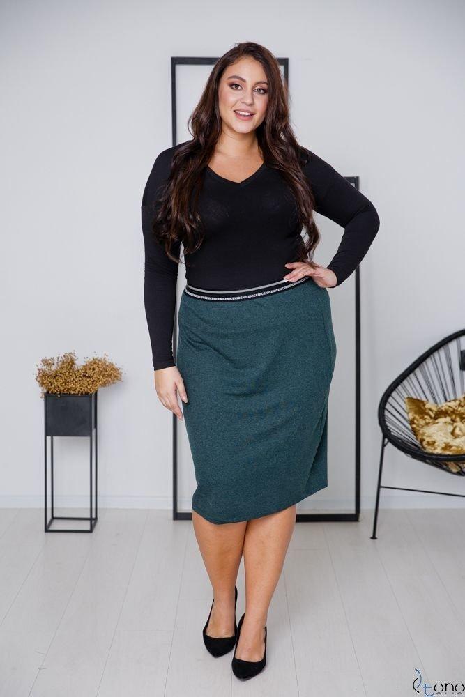 Zielona Spódnica LAURA Plus Size