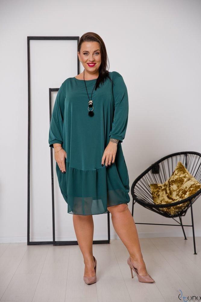 Zielona Sukienka APPRI Plus Size
