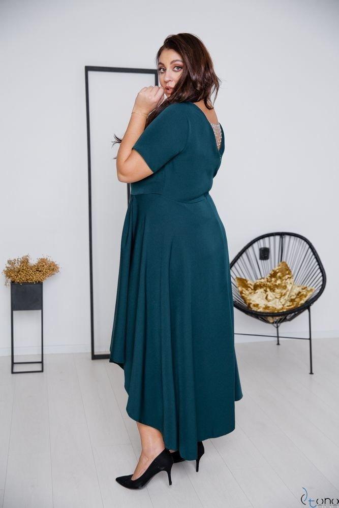 Zielona Sukienka CATENA Plus Size