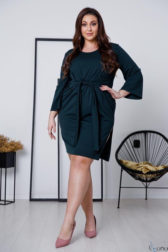 Zielona Sukienka GENNA Plus Size