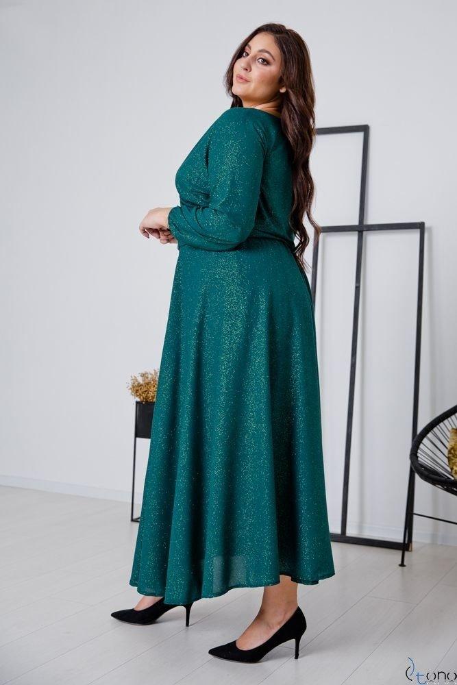 Zielona Sukienka LUMISSA Plus Size